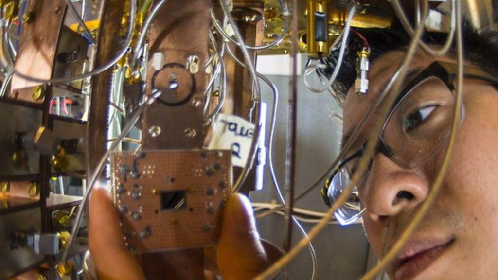 Step forward for quantum computing - BBC News
