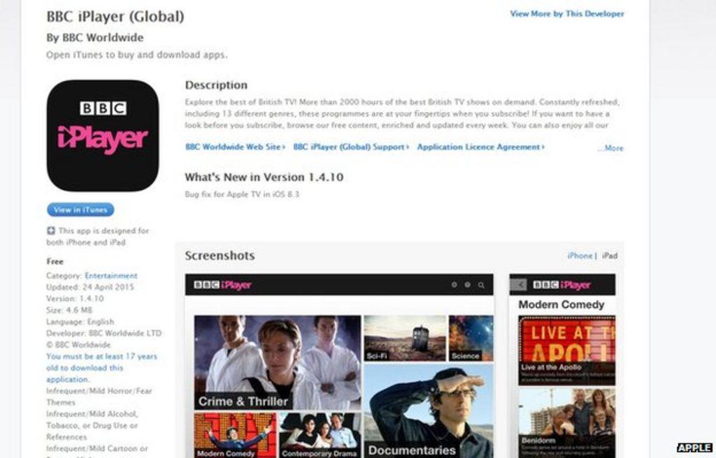 BBC Global iPlayer to close in June - BBC News