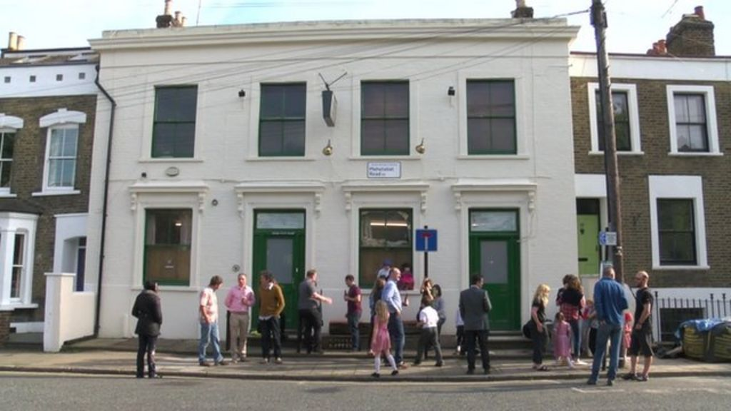 Campaigners save Hackney's The Chesham Arms - BBC News
