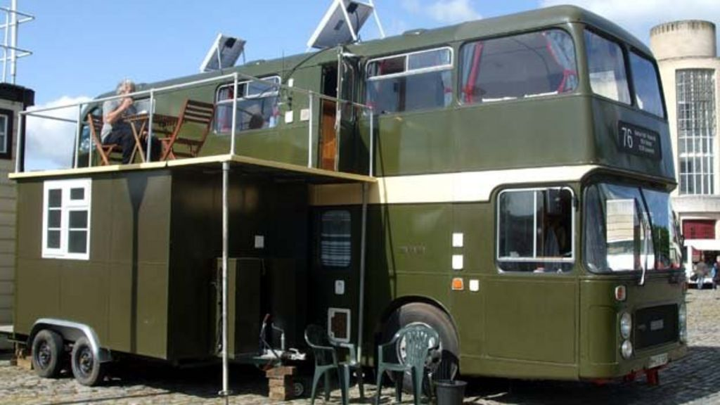 Bristol Couple S Vintage Double Decker Bus Home Plan Bbc