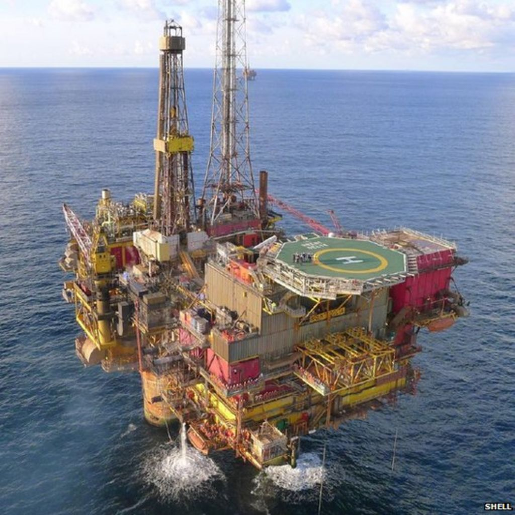 Gearing up for the big lift in the North Sea - BBC News