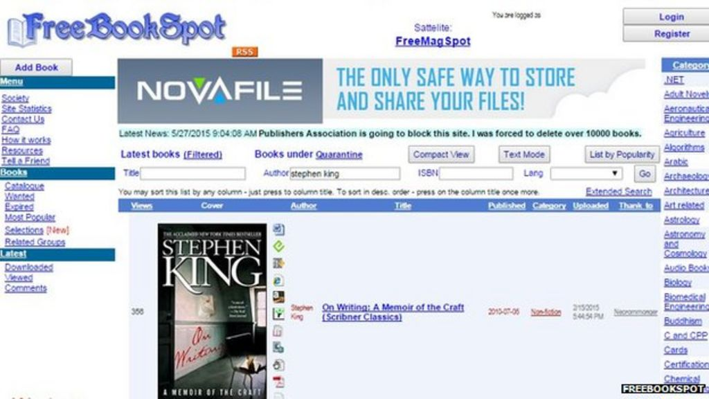 HOW TO BOOKS FROM FREEBOOKSPOT EPUB