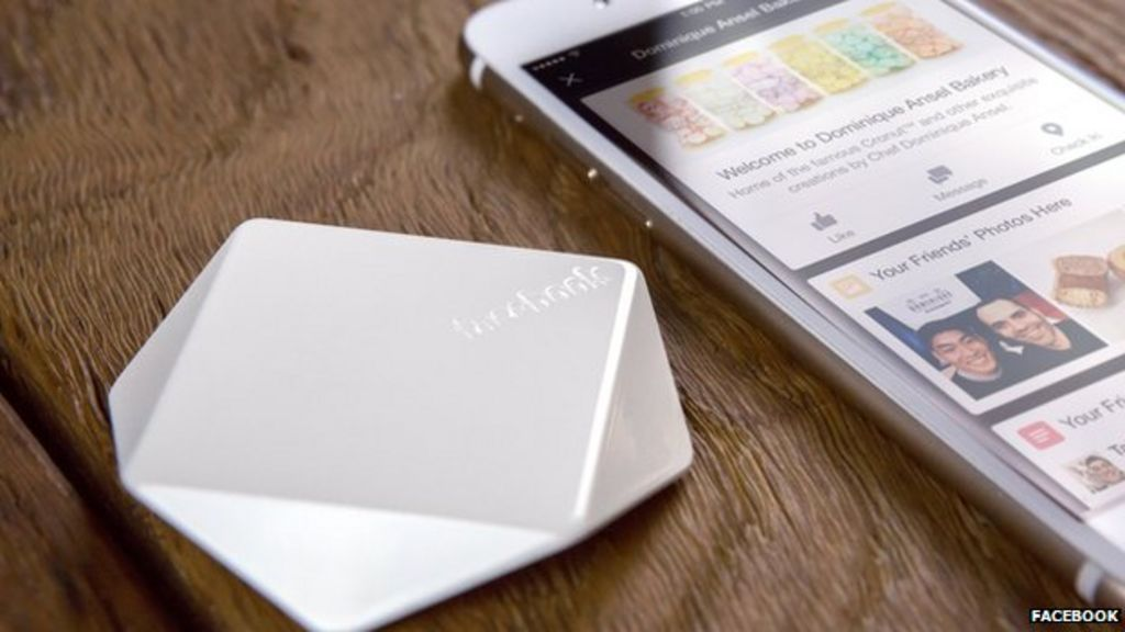 Facebook offers businesses free Place Tips beacon devices