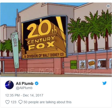 Twitter post by @AliPlumb: