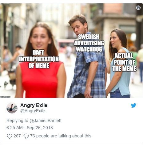 NEWS Twitter post by @AngryExile:
