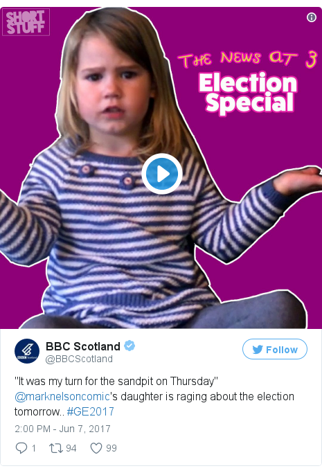 Twitter post by @BBCScotland