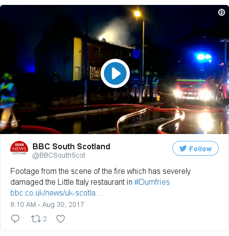 Twitter post by @BBCSouthScot