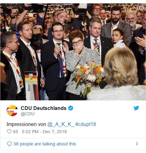 Twitter post by @CDU: Impressionen von @_A_K_K_ #cdupt18