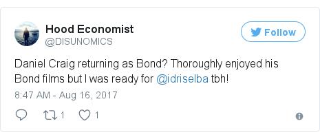 Twitter post by @DISUNOMICS