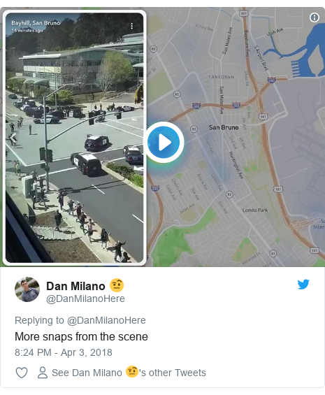 Twitter post by @DanMilanoHere: More snaps from the scene