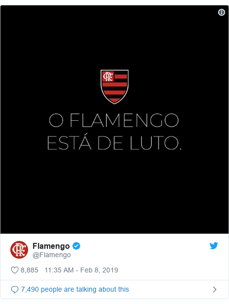 Twitter post by @Flamengo: