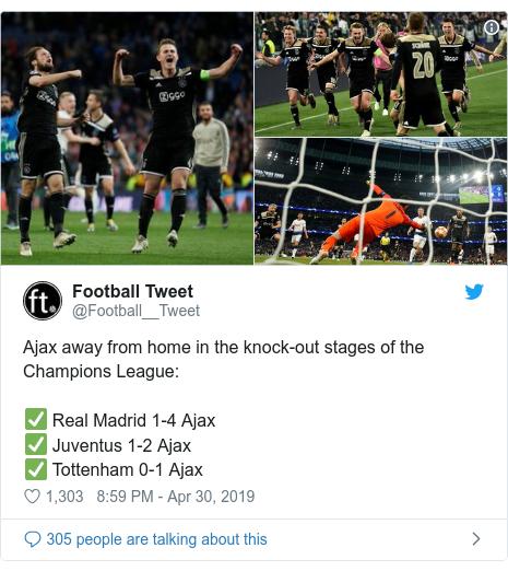 Tottenham Vs Ajax Home Or Away: Champions League: Ajax Yawika Dhidi Ya Tottenham Ugenini