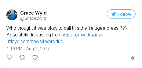 Twitter post by @GraceWyld