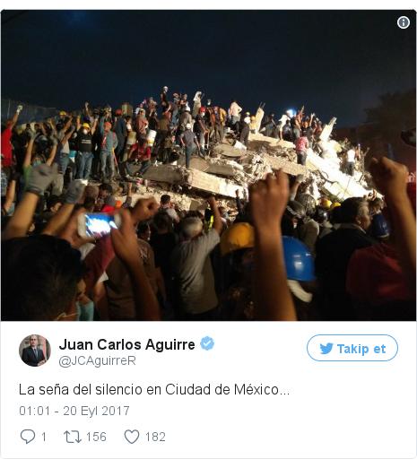 @JCAguirreR tarafından yapılan Twitter paylaşımı: La seña del silencio en Ciudad de México... pic.twitter.com/yNLhkmzm8n