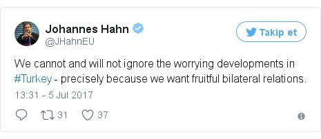 @JHahnEU tarafından yapılan Twitter paylaşımı