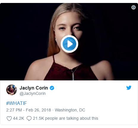 Twitter post by @JaclynCorin: #WHATIF