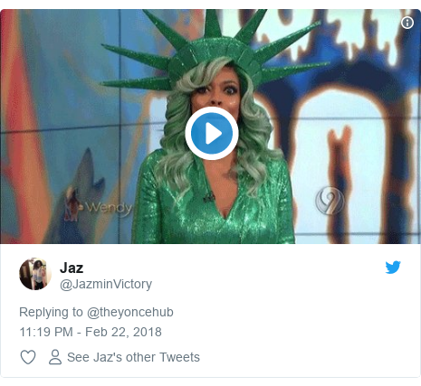 Twitter post by @JazminVictory:
