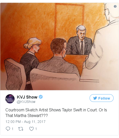 Twitter post by @KVJShow