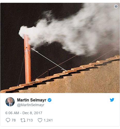 Twitter post by @MartinSelmayr: