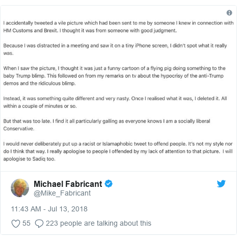 Twitter post by @Mike_Fabricant: