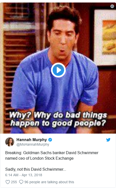 The One Where Ross Got Mistaken for a Banker
