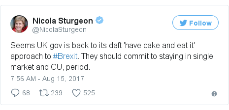 Twitter post by @NicolaSturgeon