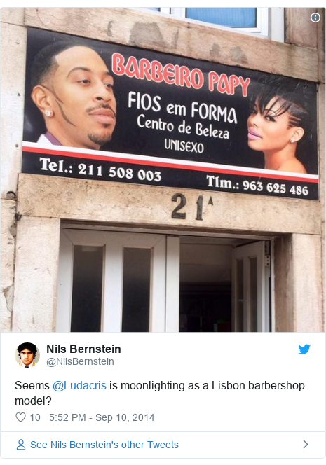 How did Skai Jackson's image end up in a south London chicken shop?