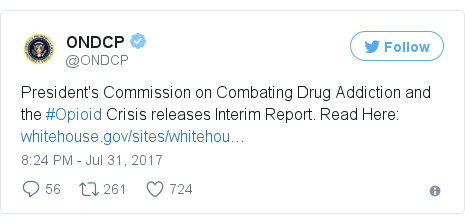 Twitter post by @ONDCP