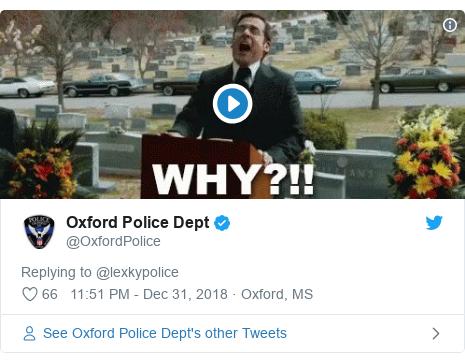 Twitter post by @OxfordPolice: