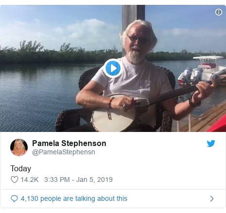 Twitter post by @PamelaStephensn: Today