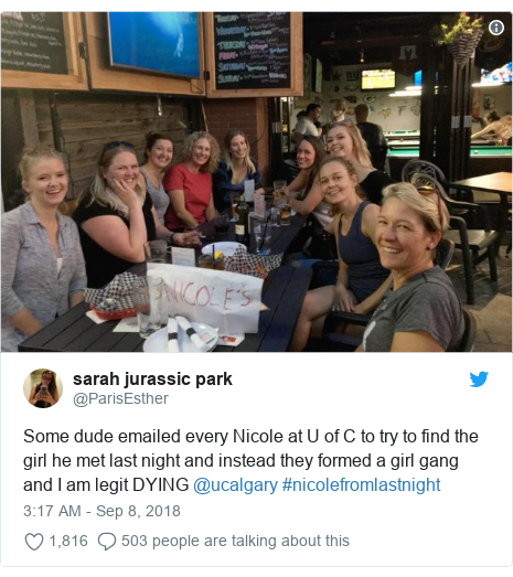 Canada man emails 247 women called Nicole to find girl he met