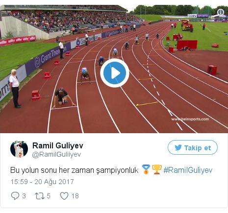 @RamilGuliiyev tarafından yapılan Twitter paylaşımı