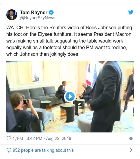 Did Boris Johnson put his foot in it in talks with Macron?