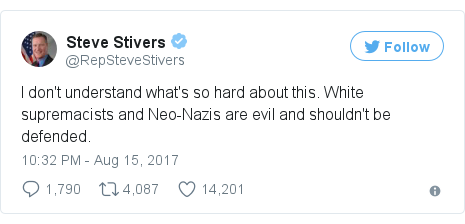 Twitter post by @RepSteveStivers