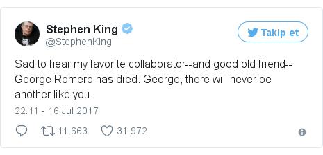 @StephenKing tarafından yapılan Twitter paylaşımı