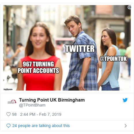 Twitter post by @TPointBham: