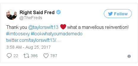 Twitter post by @TheFreds