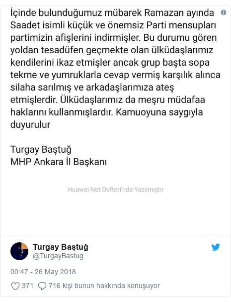 @TurgayBastug tarafından yapılan Twitter paylaşımı: