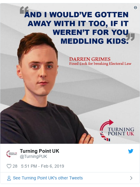 Twitter post by @TurningPUK: