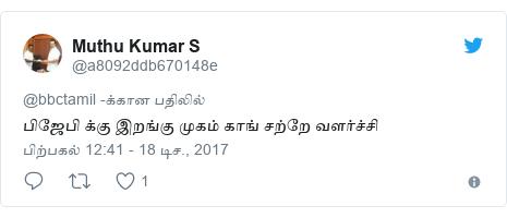 டுவிட்டர் இவரது பதிவு @a8092ddb670148e: பிஜேபி க்கு இறங்கு முகம் காங் சற்றே வளர்ச்சி