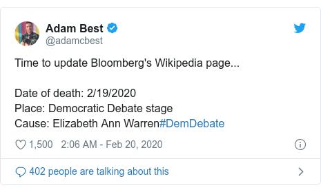Democratic Debate Elizabeth Warren S Attacks Light Up Social