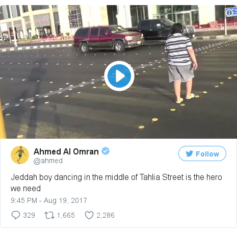 Twitter post by @ahmed