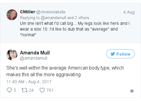 Twitter post by @amandamull