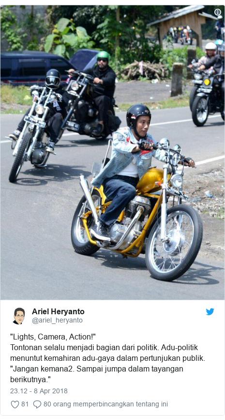 Gaya Dilan Presiden Jokowi: Antara penampilan dan substansi, mana yang lebih unggul?  BBC