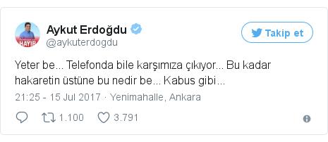 @aykuterdogdu tarafından yapılan Twitter paylaşımı