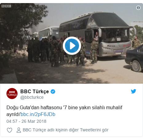 @bbcturkce tarafından yapılan Twitter paylaşımı: Doğu Guta'dan haftasonu '7 bine yakın silahlı muhalif ayrıldı'