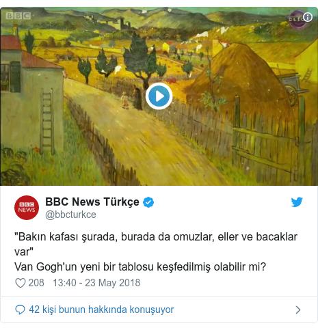 """@bbcturkce tarafından yapılan Twitter paylaşımı: """"Bakın kafası şurada, burada da omuzlar, eller ve bacaklar var"""" Van Gogh'un yeni bir tablosu keşfedilmiş olabilir mi?"""