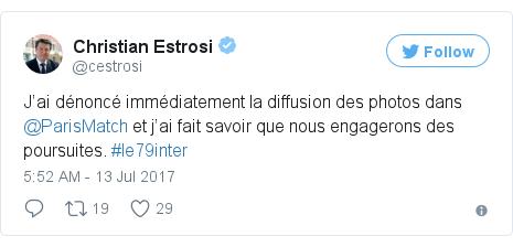 Twitter post by @cestrosi
