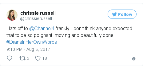 Twitter post by @chrissierussell