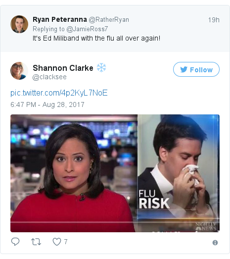 Twitter post by @clacksee